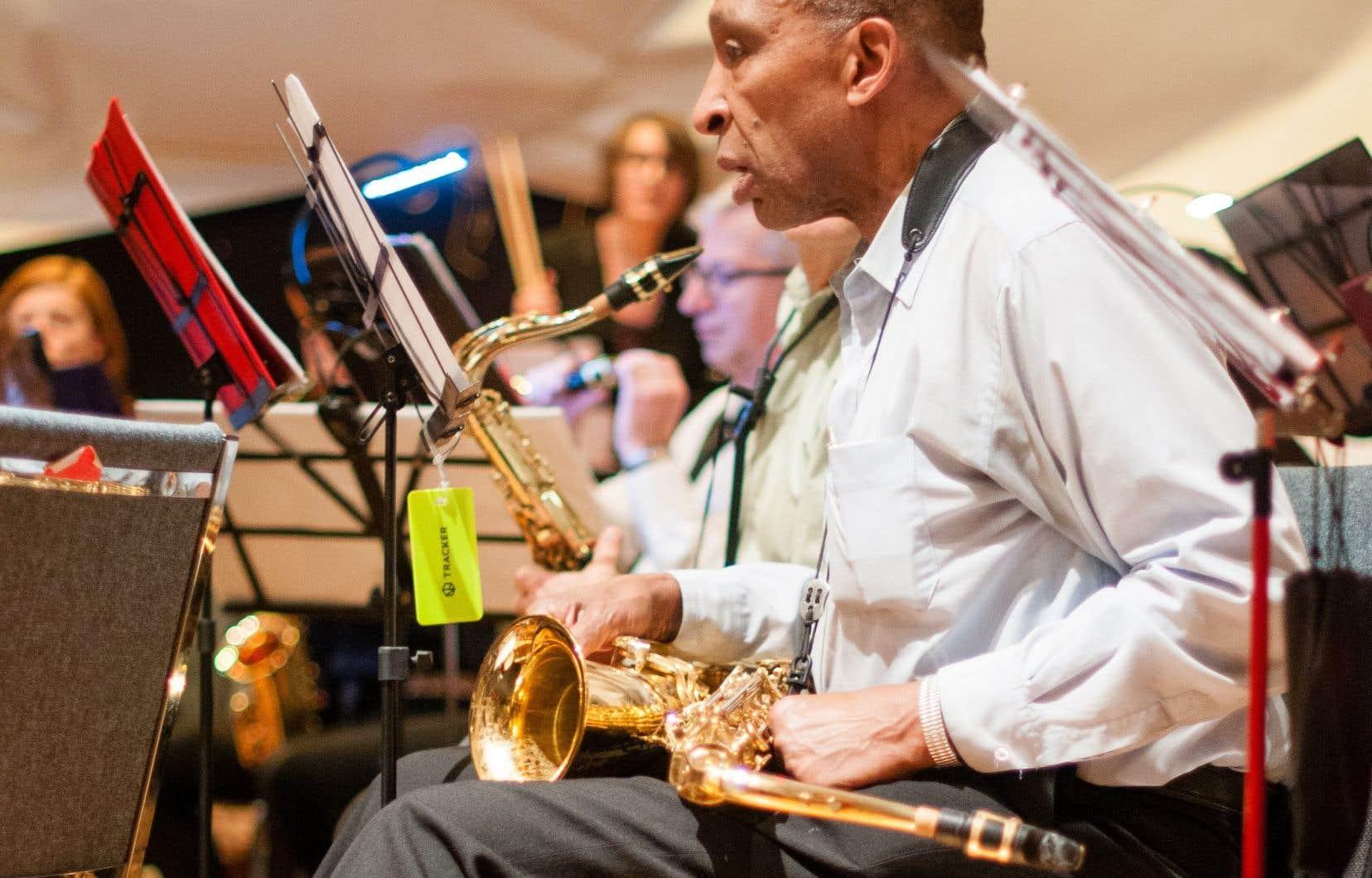 Le saxophoniste Irvin Griffith