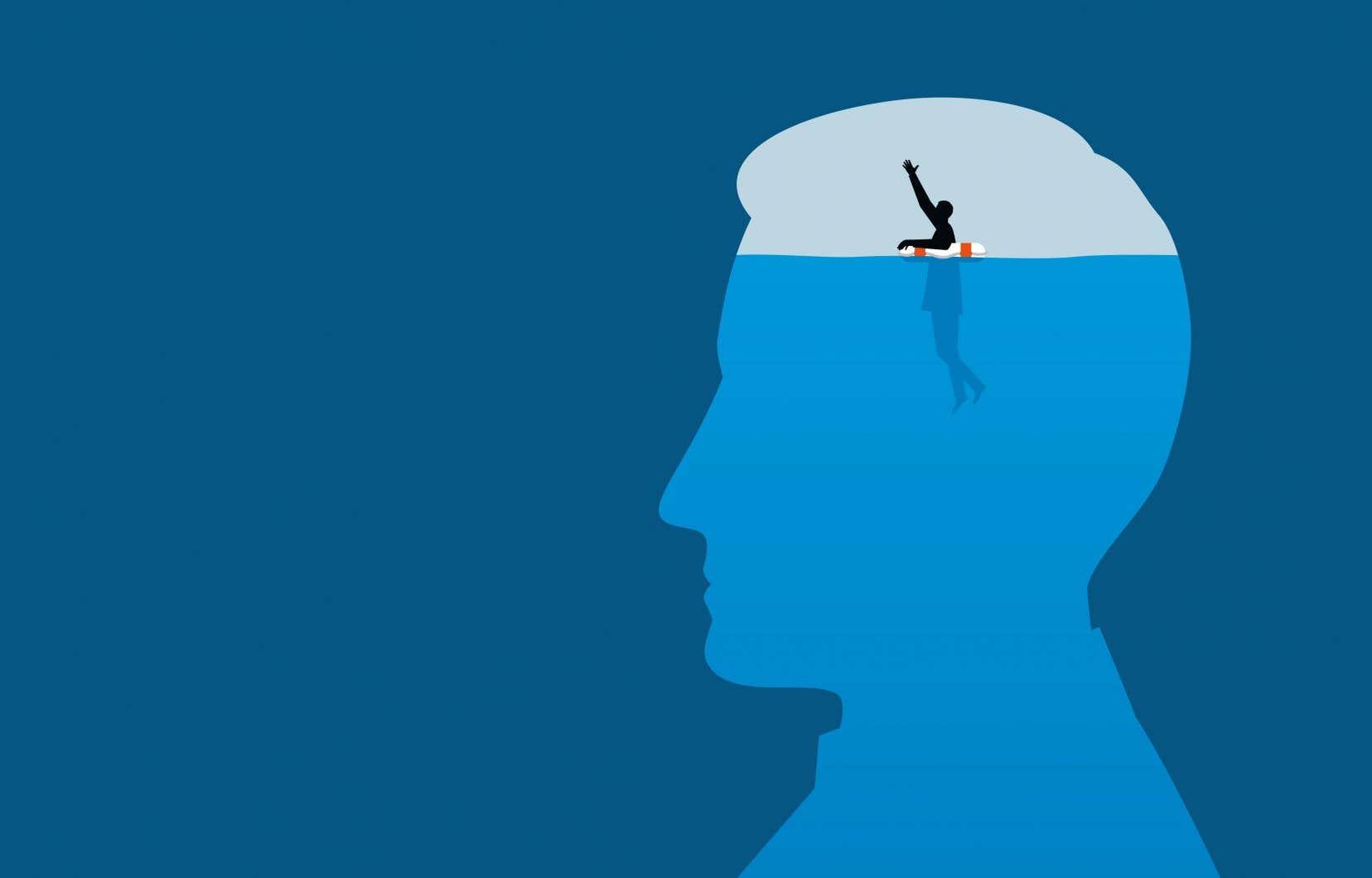 Selon le psychologue Réal Labelle, le programme risque d'inciter la population à croire que l'autosoin peut remplacer la psychothérapie.
