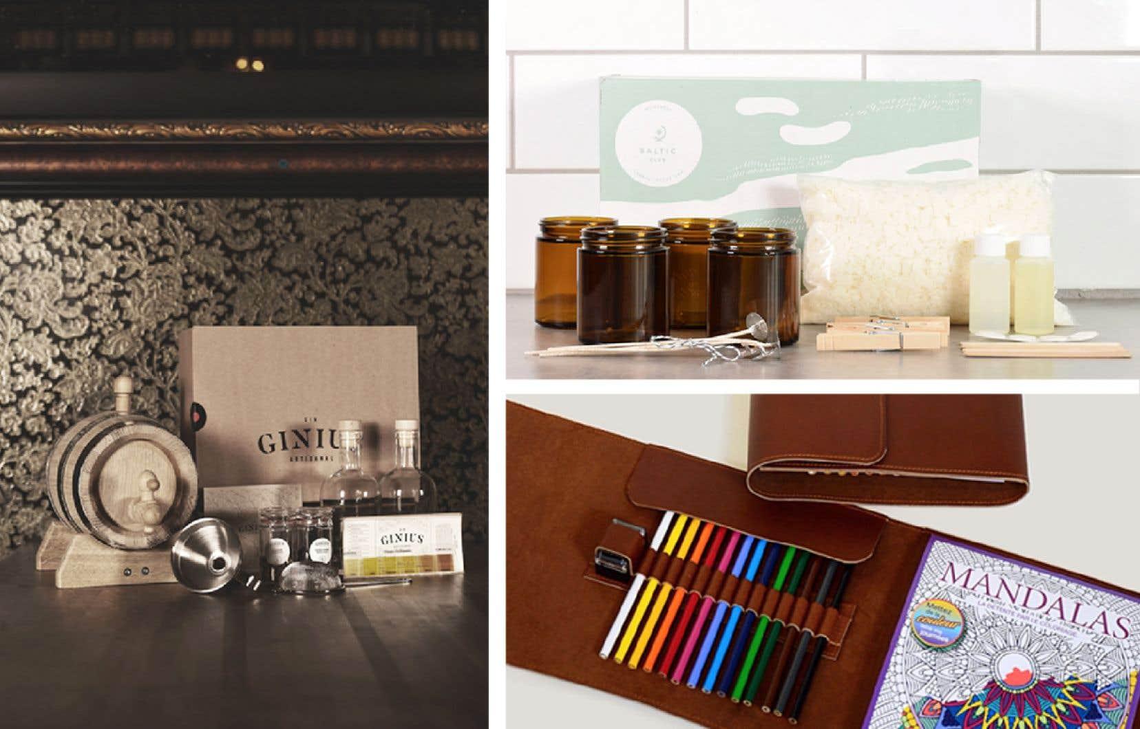 Des entreprises québécoise concoctent des boîtes créatives parfaites à offrir (ou à s'offrir) pour passer du bon temps en solo, en duo, voire en famille.
