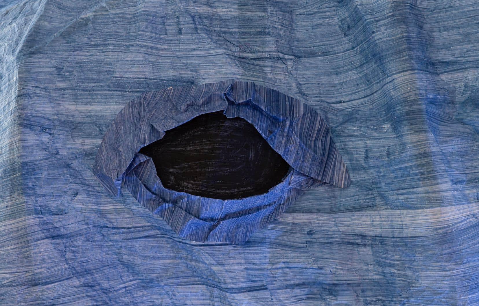Cynthia Girard-Renard, «Baleine bleue» (détail), 2020