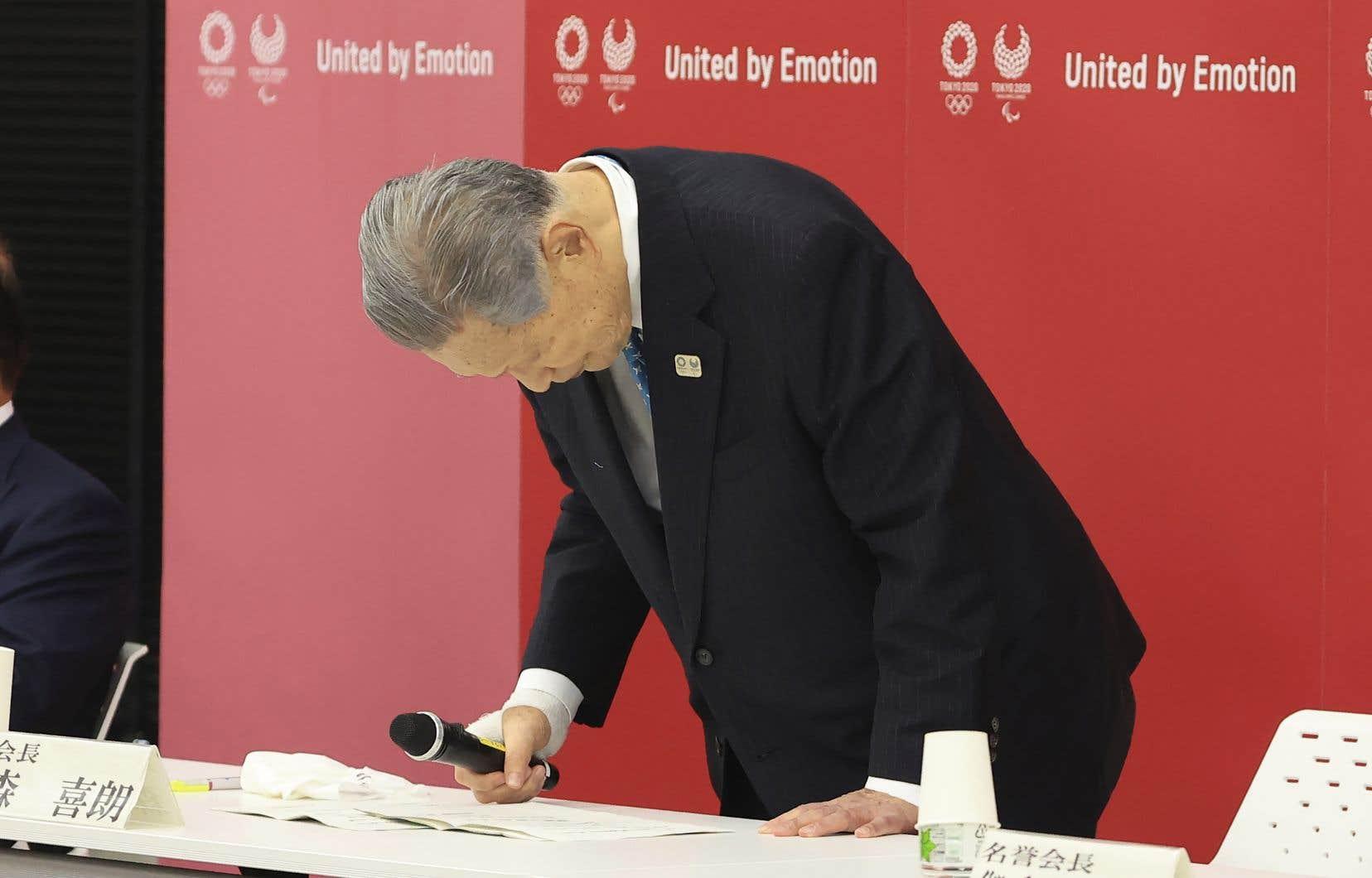 Yoshiro Mori, le président du comité d'organisation des Jeux olympiques de Tokyo, avait déclaré la semaine dernière que les femmes avaient des difficultés à parler de manière concise lors des réunions, ce qu'il trouvait «embêtant».