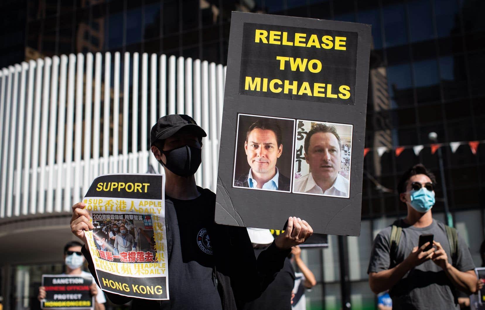 Cette déclarationest le fruit de la campagne menée par Ottawa pour recueillir le soutien de la communauté internationale afin d'obtenir la libération des Canadiens Michael Kovrig et Michael Spavor.