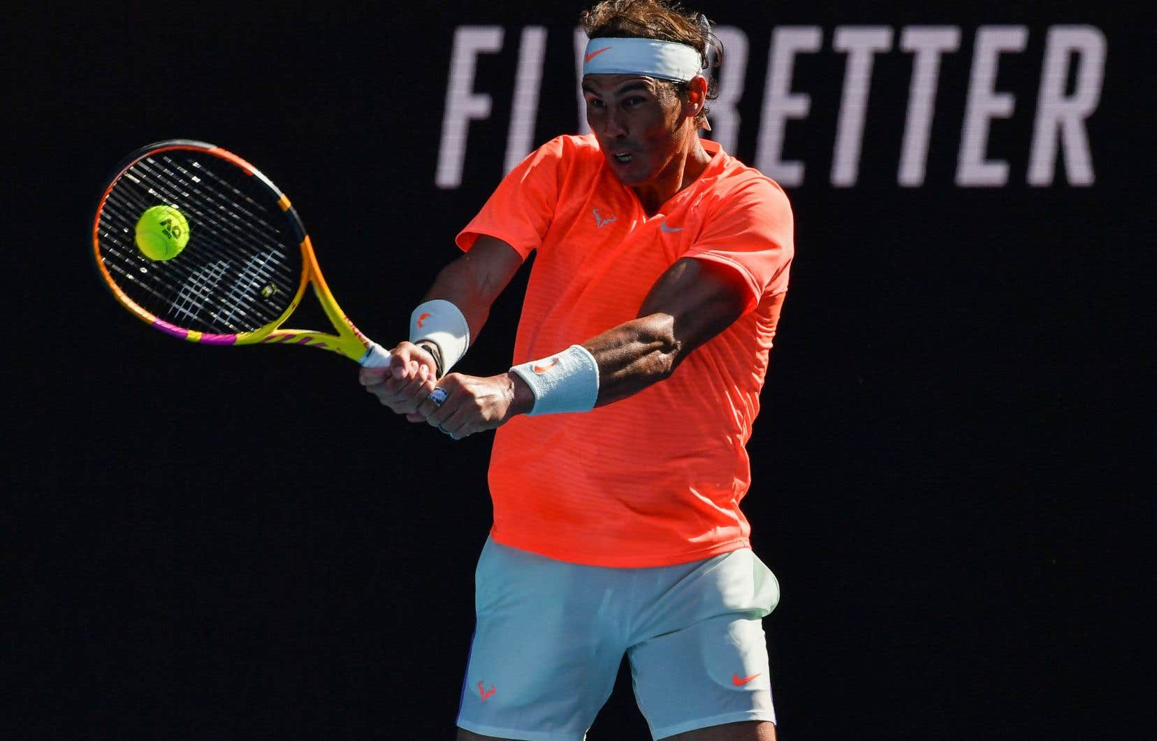 RafaelNadal tente de devenir le premier homme de l'ère professionnelle à remporter chacun des quatre tournois majeurs à deux reprises ou plus.