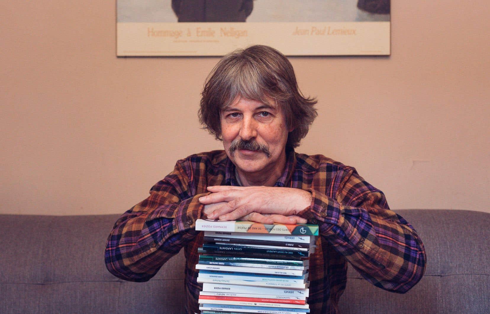 Bernard Pozier, poète et directeur littéraire des Écrits des Forges