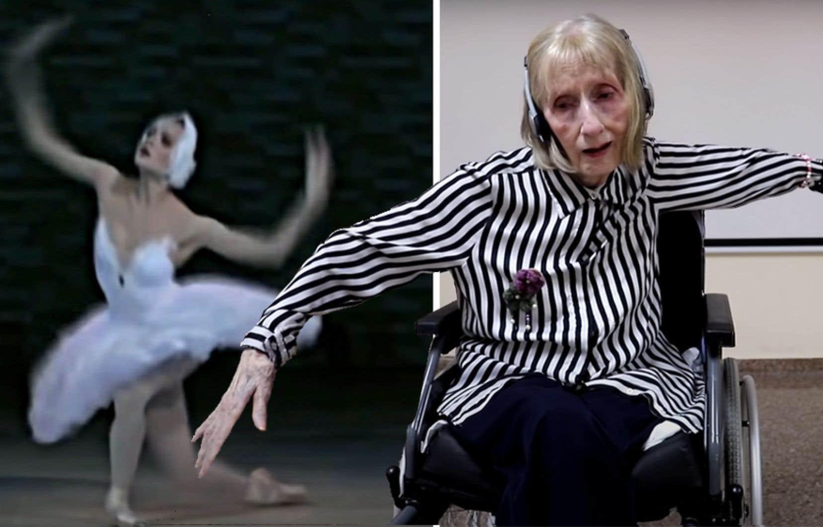 Marta C. González, atteinte de la maladie d'Alzheimer, a soudainement recouvré la mémoire de ses années de gloire en tant que ballerine en écoutant Le lac des cygnes de Tchaïkovski. La vidéo filmée par une association espagnole est devenue virale sur les réseaux sociaux l'automne dernier.