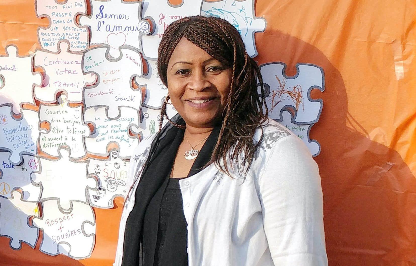 Mariame Cissé s'est installée au Québec en 1988 et a rapidement fait de l'accueil des immigrants son cheval de bataille.