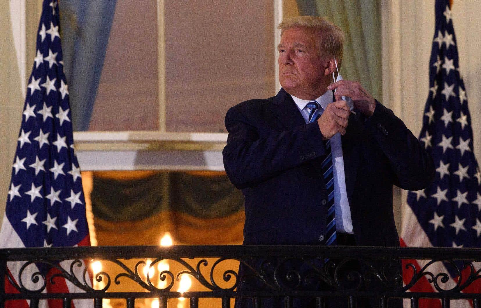 Donald Trump mène depuis des années une bataille judiciaire pour que ses déclarations d'impôt ne soient pas rendues publiques.