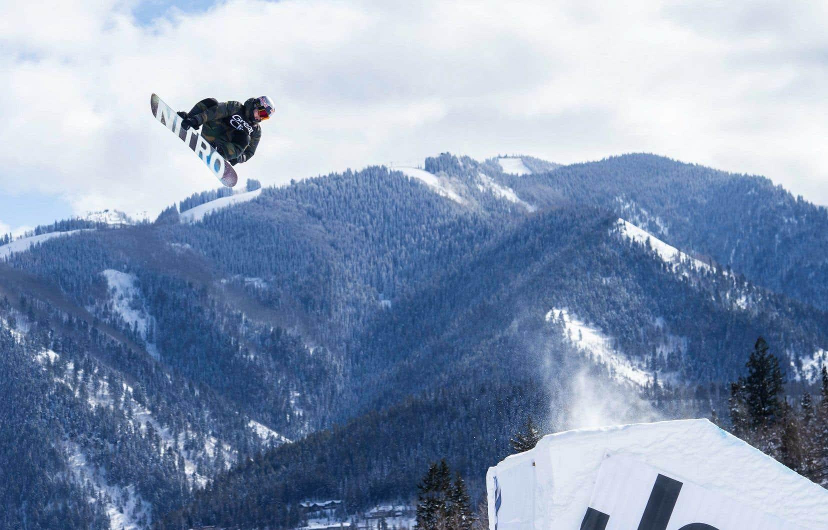 Sébastien Toutant aux X Games d'Aspen, au Colorado, en janvier 2019
