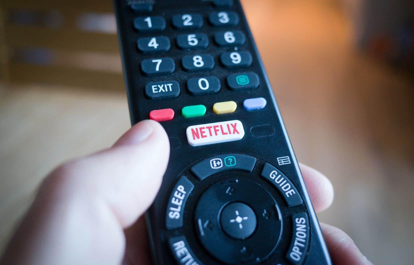 Le Québec perçoit depuis deux ans la TVQ auprès d'une liste de plateformes numériques et d'entreprises hors province qui compte aujourd'hui plus de 900 noms, dont Netflix.