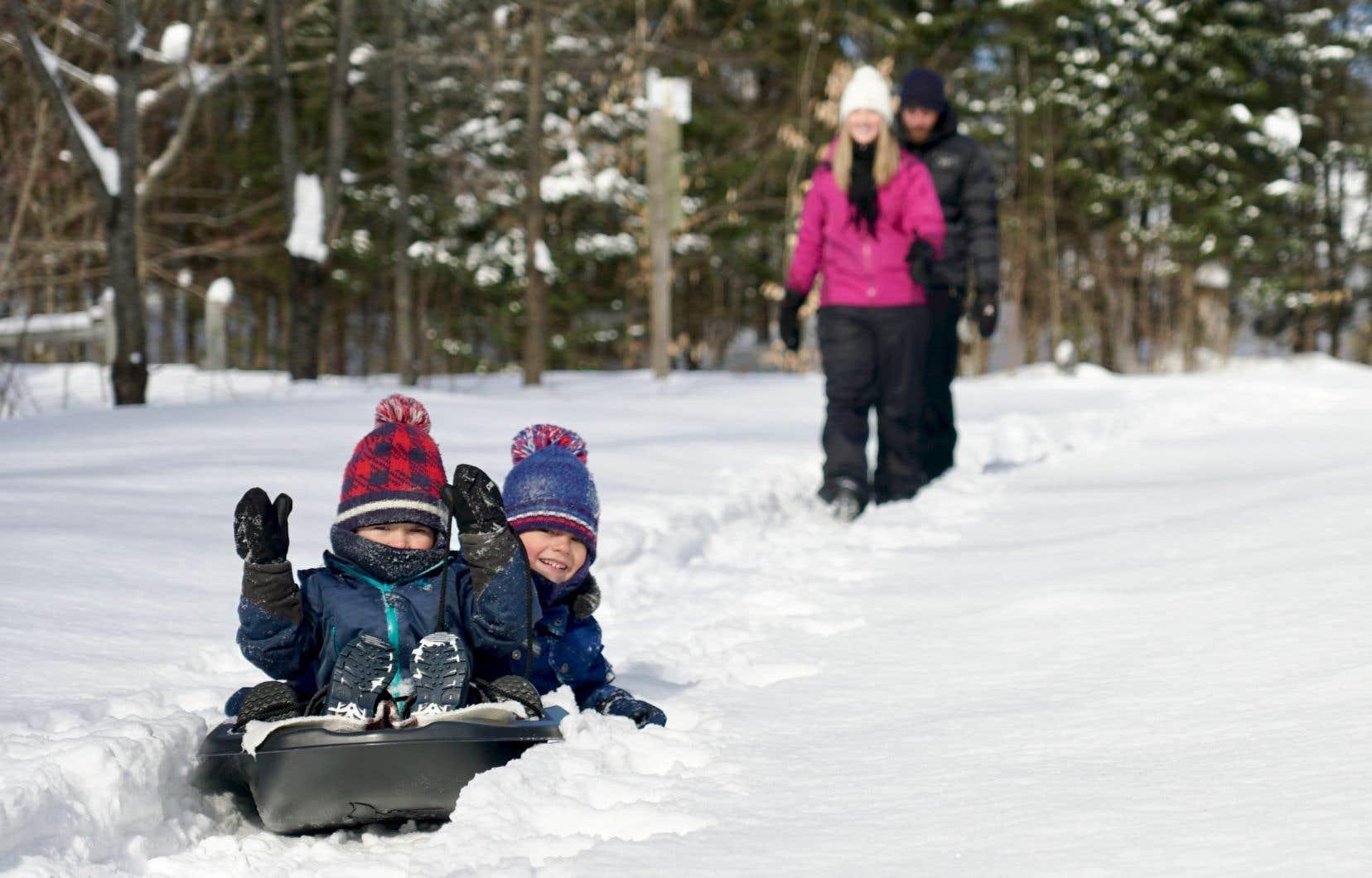 Dans le cadre d'un projet pilote, le parc de la Rivière Batiscan ouvre son secteur de Saint-Narcisse cet hiver, une bonne nouvelle pour les citoyens des environs.