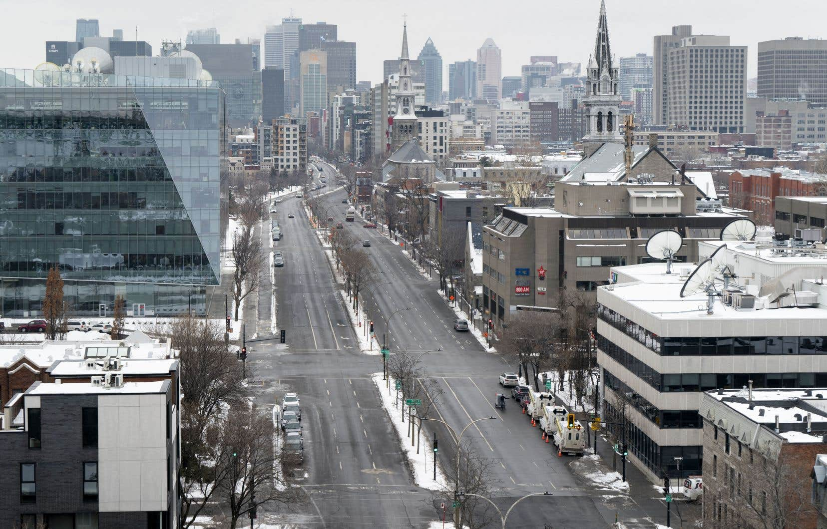 «La publication par CDPQ-Infra, la semaine dernière, des cinq principaux scénarios étudiés pour la desserte du centre-ville ne laisse plus de doute quant au fait que le REM de l'Est doit emprunter le boulevard René-Lévesque et qu'il ne peut le faire en souterrain», écrit l'auteur.