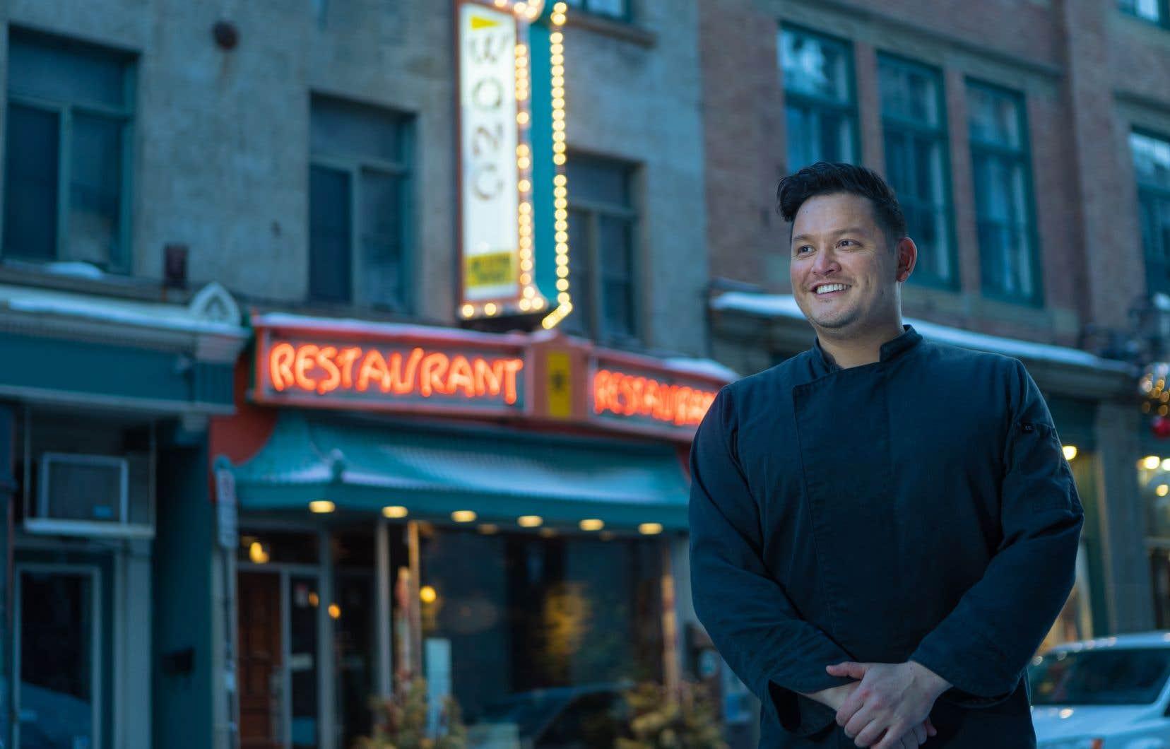 """«C'est une des choses que j'ai le plus de misère à faire: changer l'image que les gens ont du restaurant chinois. On est tellement habitué que ça soit """"ça"""", que dès qu'on pense en dehors de la boite, les gens sont déboussolés», explique Steven Wong."""