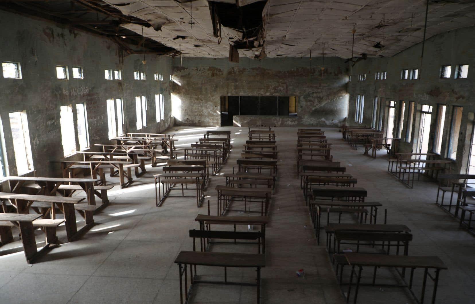 Il y a neuf jours, des hommes armés ont envahi un pensionnat à Kagara situé dans l'État voisin du Niger, où 42 personnes, dont 27 élèves, ont été kidnappées.