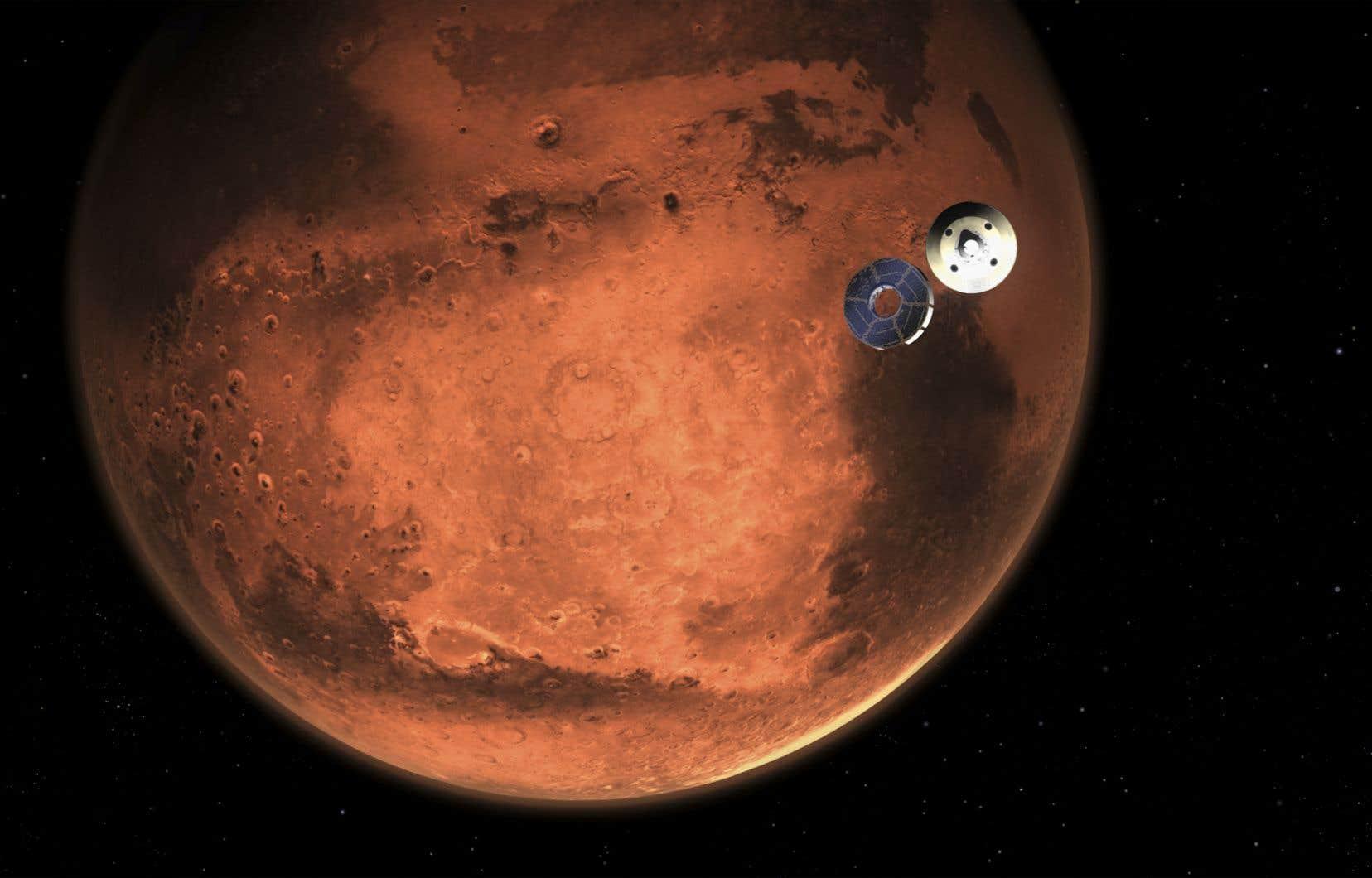 À quoi ressemblait la vie sur Mars? - Le Devoir