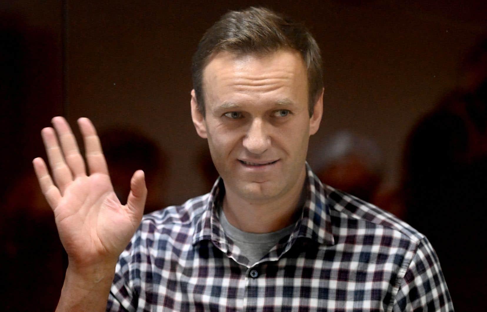 Alexeï Navalny est visé par de multiples procédures judiciaires depuis son retour en Russie.
