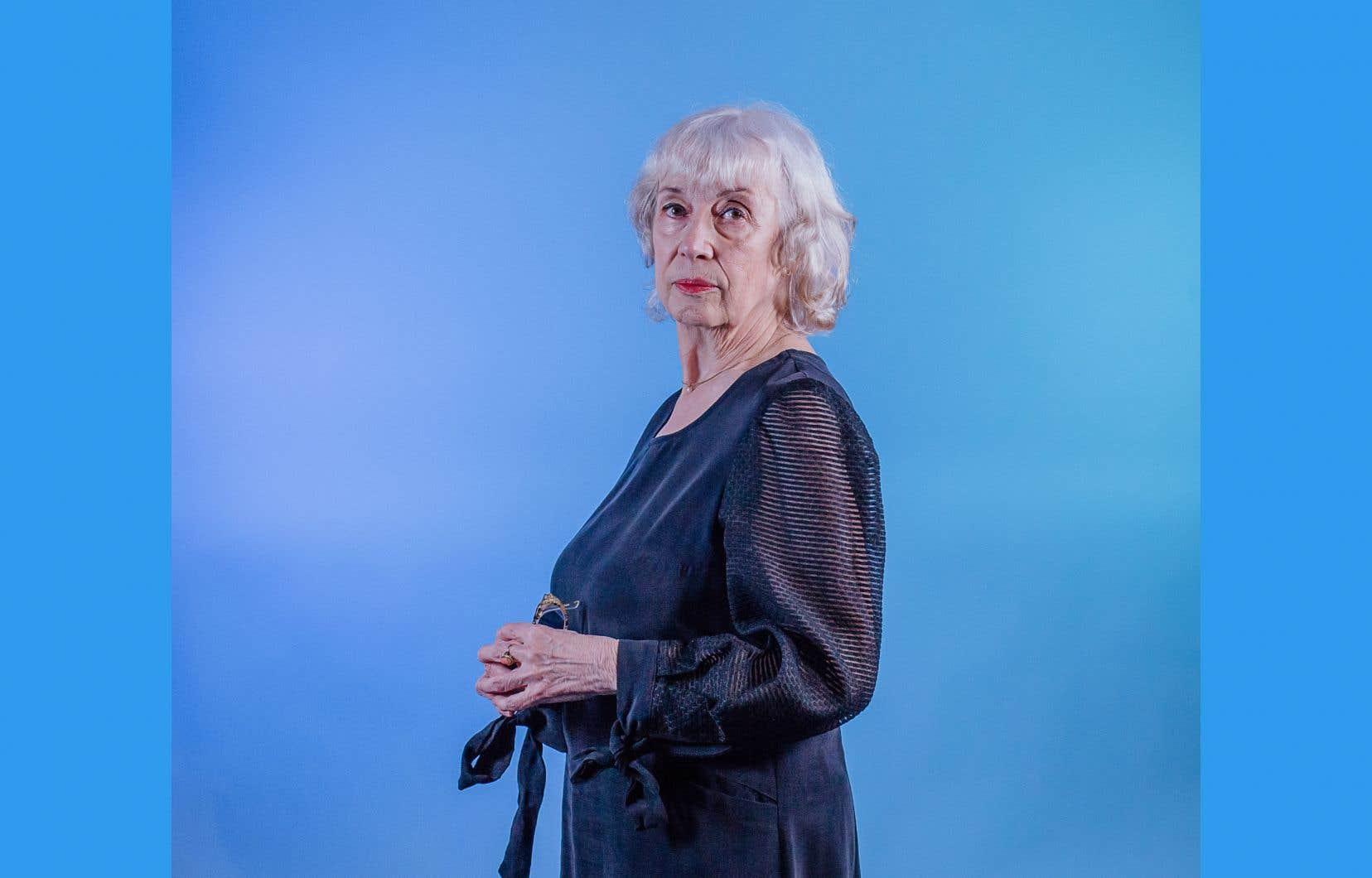 La poète Carole David