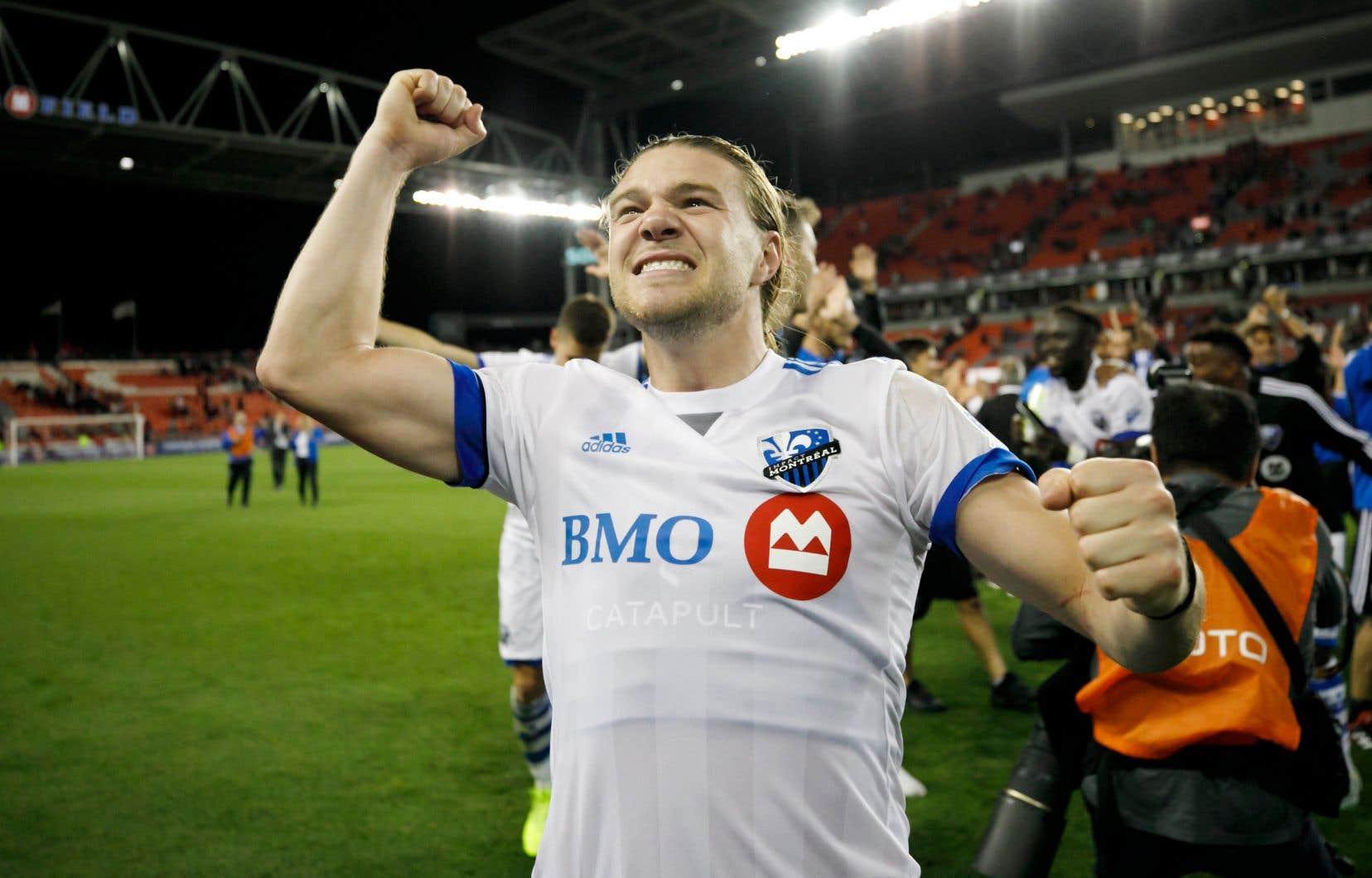 Samuel Piette, joueur de soccer pour le CF Montréal