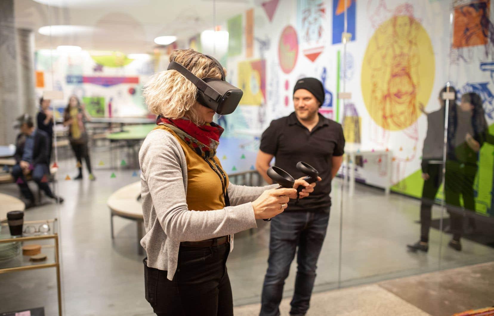 PRISME travaille à offrir des expériences de réalité virtuelle pour permettre de vivre une expérience immersive et multisensorielle à distance.