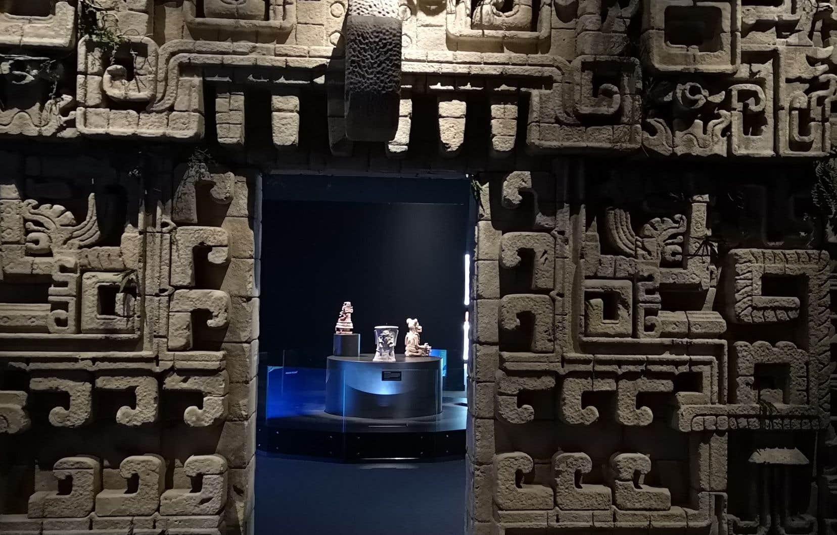 Des fresques, des sculptures, des objets du quotidien et des bijoux permettront au public de faire un voyage dans le temps et de comprendre la culture maya au Musée de la civilisation.