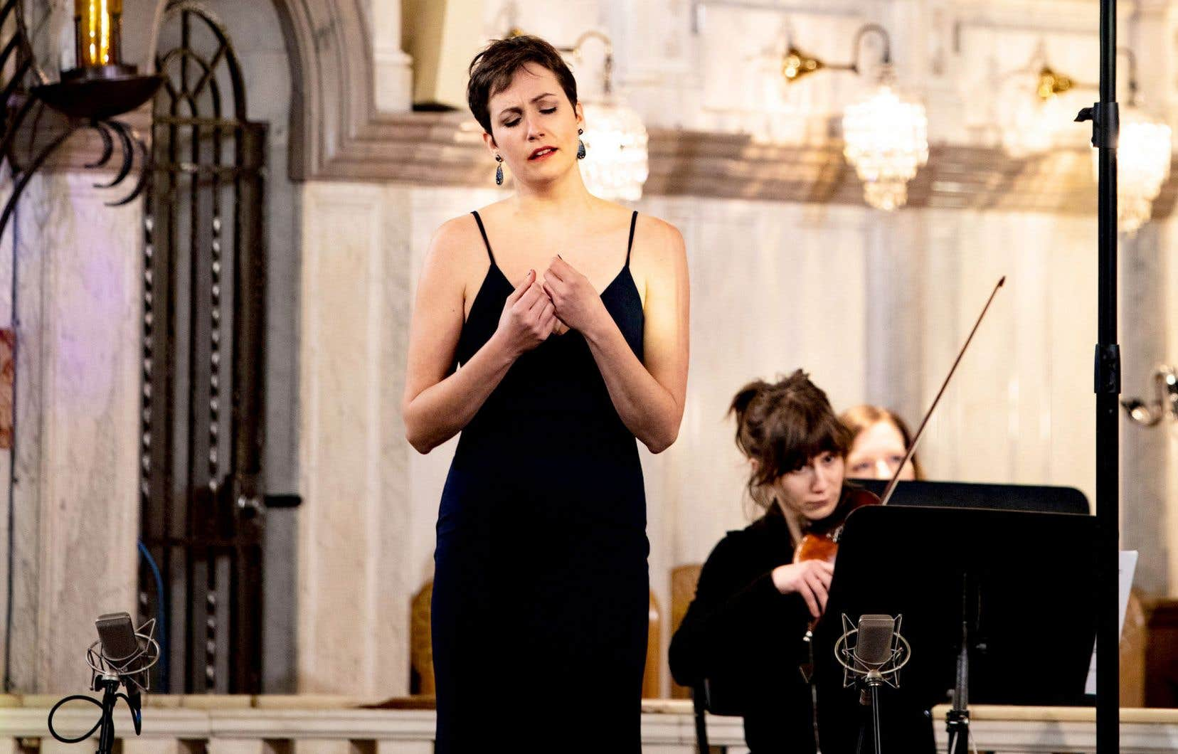 Le concert Mahler de l'Orchestre de l'Agora fait intervenir cinq solistes liés à l'Atelier d'opéra, dont la mezzo Florence Bourget.