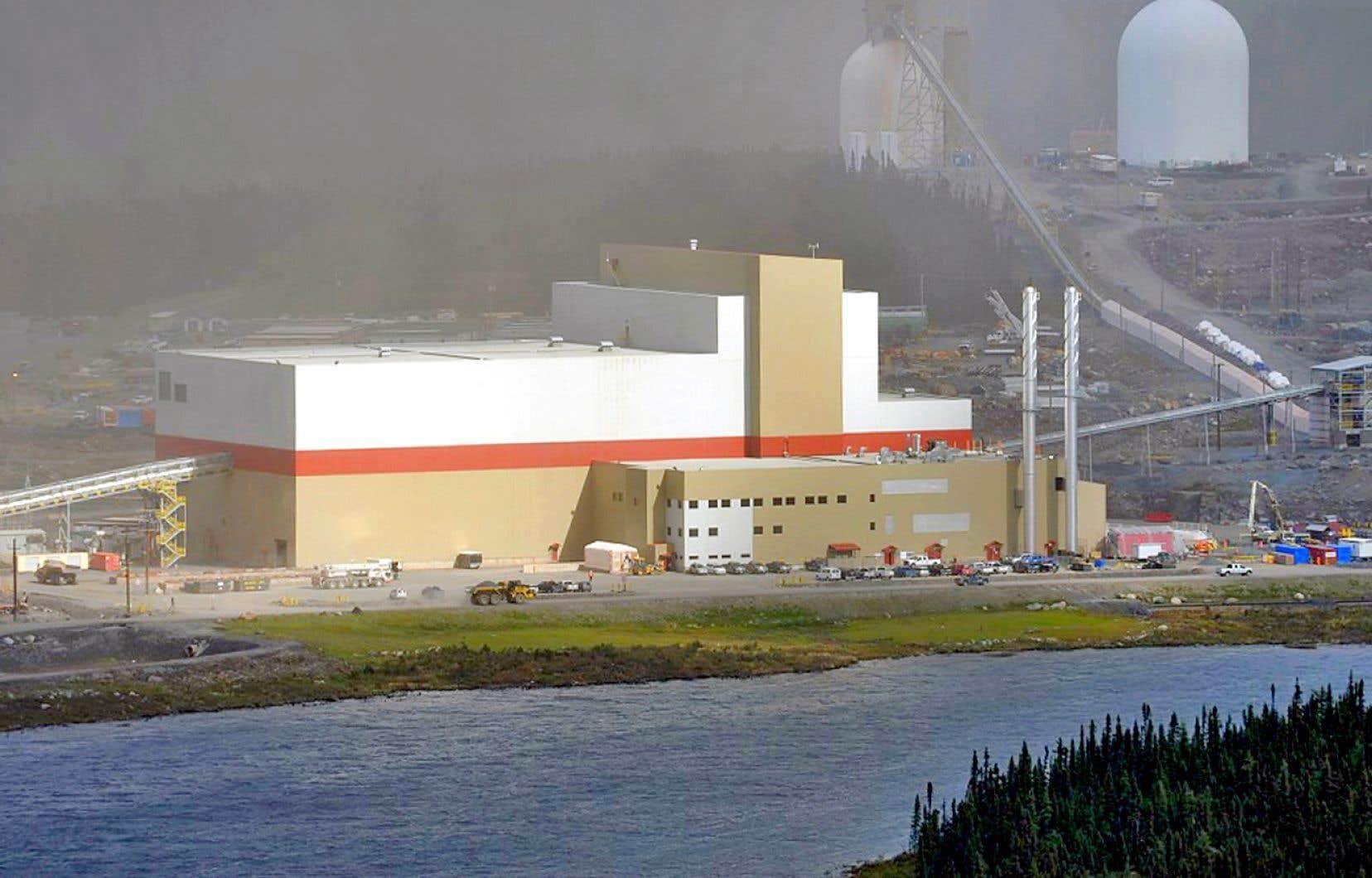 L'exploitation de la mine de fer du lac Bloom pourrait se poursuivre jusqu'en 2040.