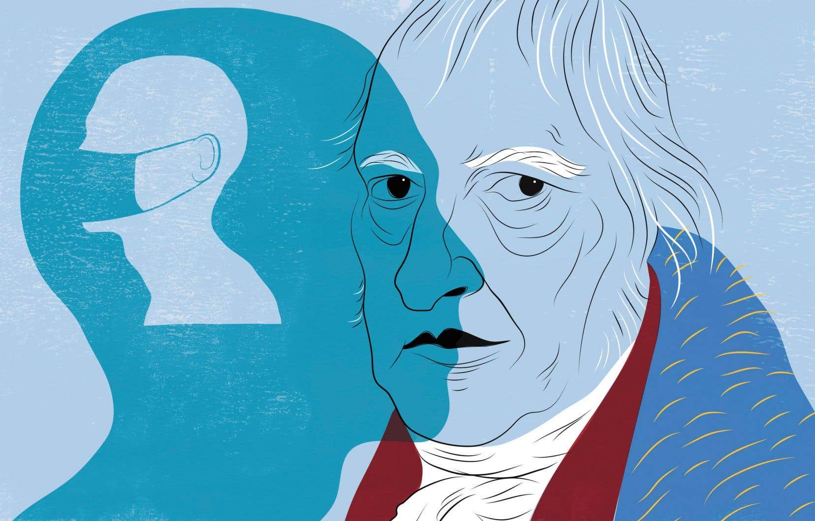 Comment se fait-il qu'après la peste de 1347, le choléra de 1850 ou encore la grippe espagnole de 1919, une pandémie des temps modernes soit si paralysante pour l'humanité? Georg Wilhelm Friedrich Hegel répondrait probablement que chaque époque et chaque société qui la domine sont si complexes et singulières qu'aucune loi universelle ne peut s'en dégager, sinon que rétrospectivement. Cela dit, d'où vient cette mise en garde et comment peut-on s'en affranchir?