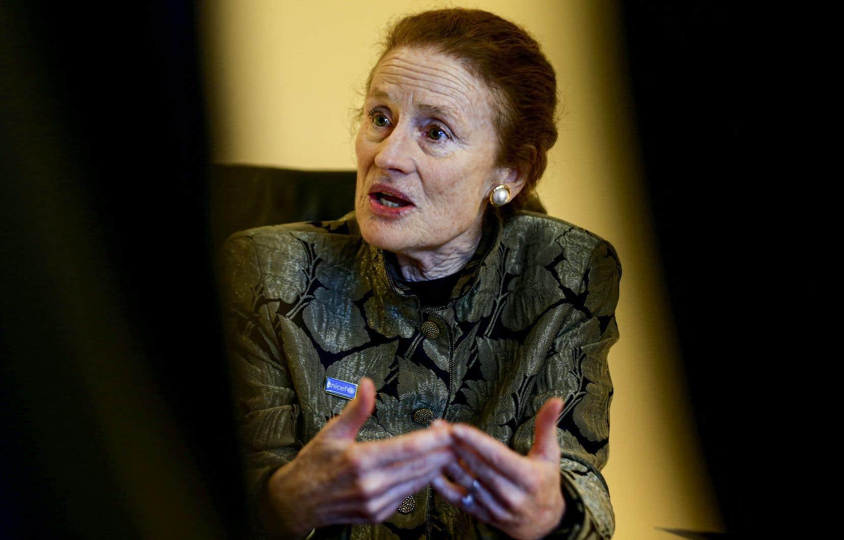«La COVID-19 a aggravé une situation déjà difficile pour des millions de filles», a déclaré la directrice exécutive de l'UNICEF, Henrietta Fore.