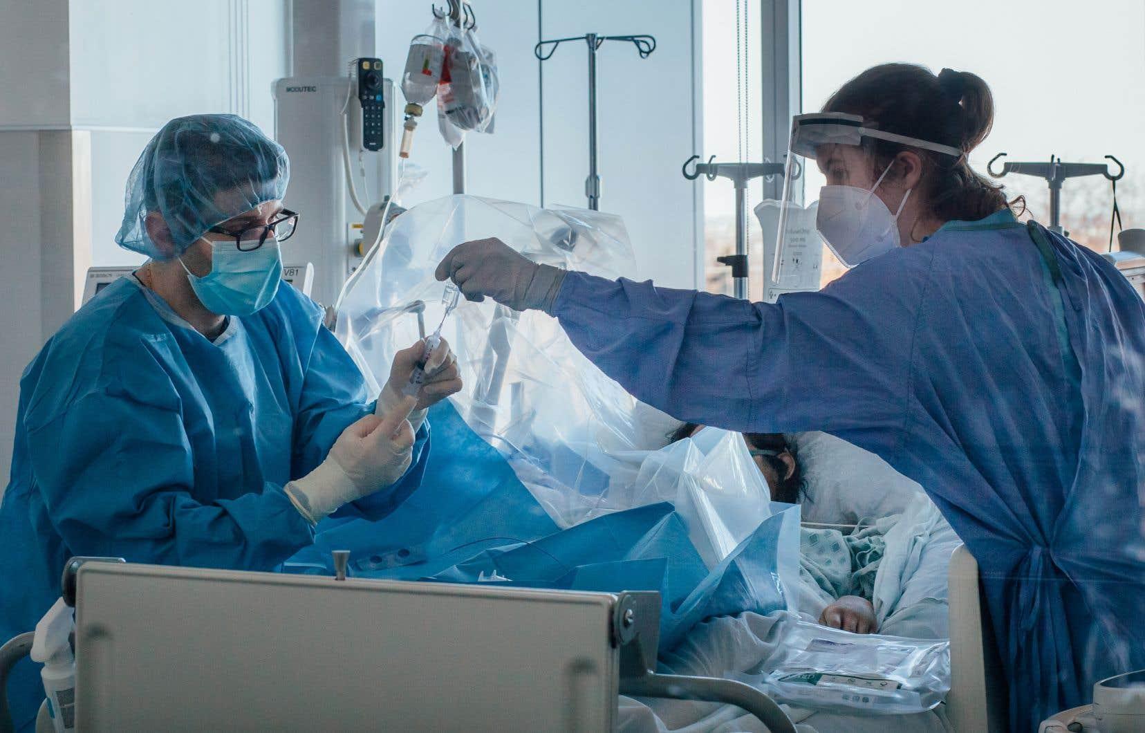 Les femmes représentent 80,6% des travailleurs dans le milieu de la santé.