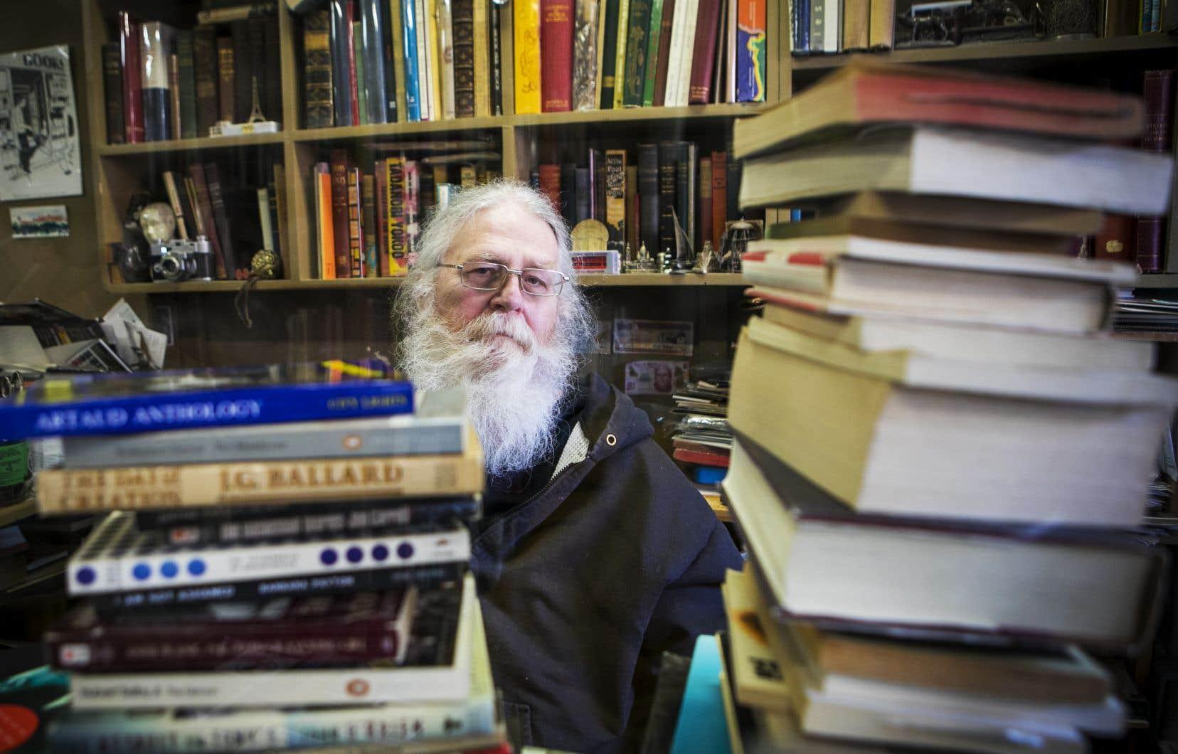 Stephen Welch, le patron de la librairie depuis 37 ans
