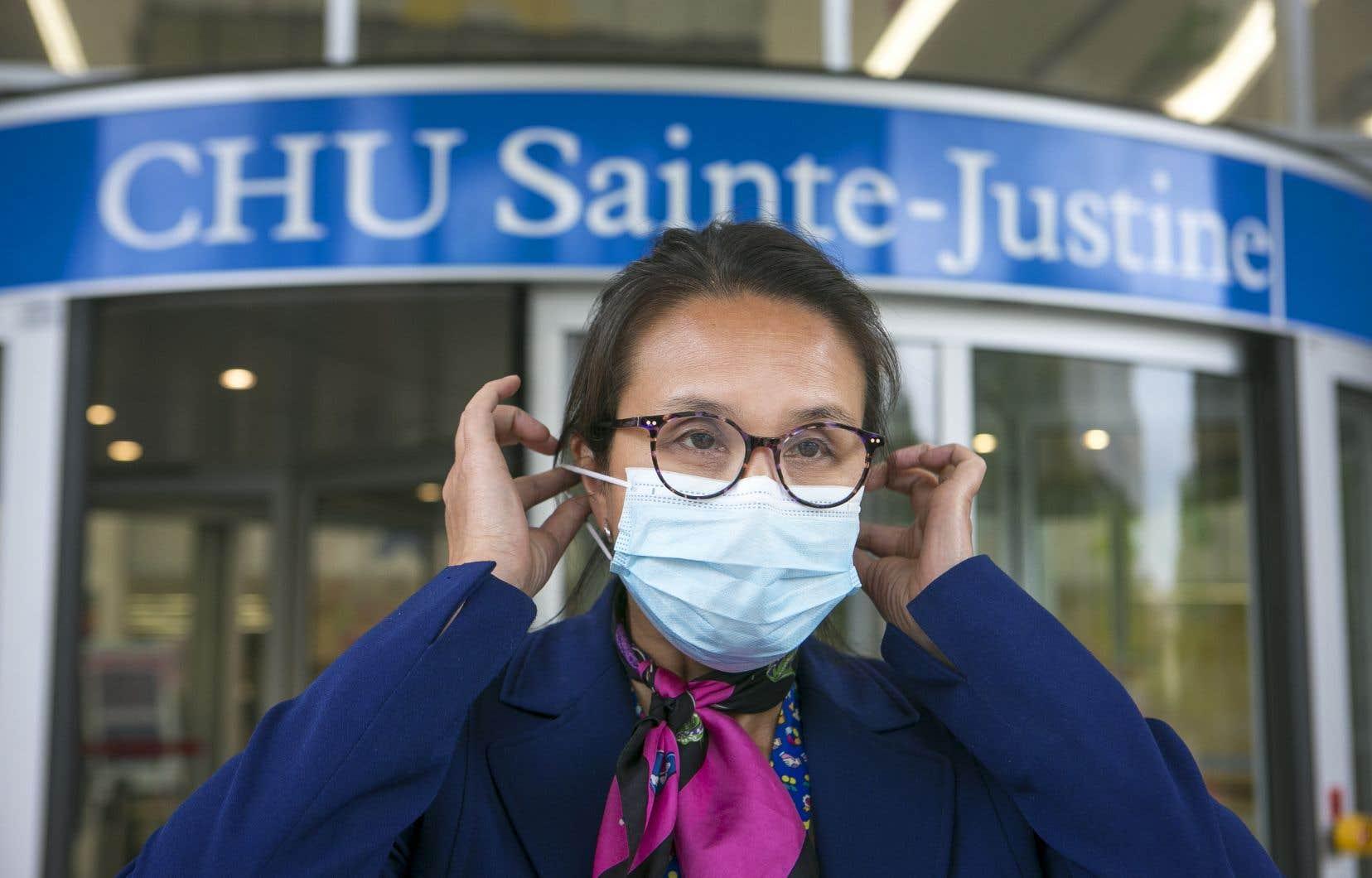 La Dre Caroline Quach-Thanh, microbiologiste-infectiologue au CHU Sainte-Justine