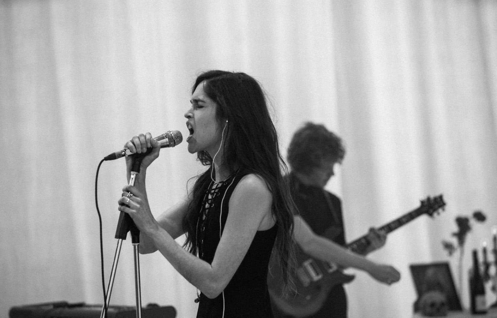 La chanteuse Marie Davidson