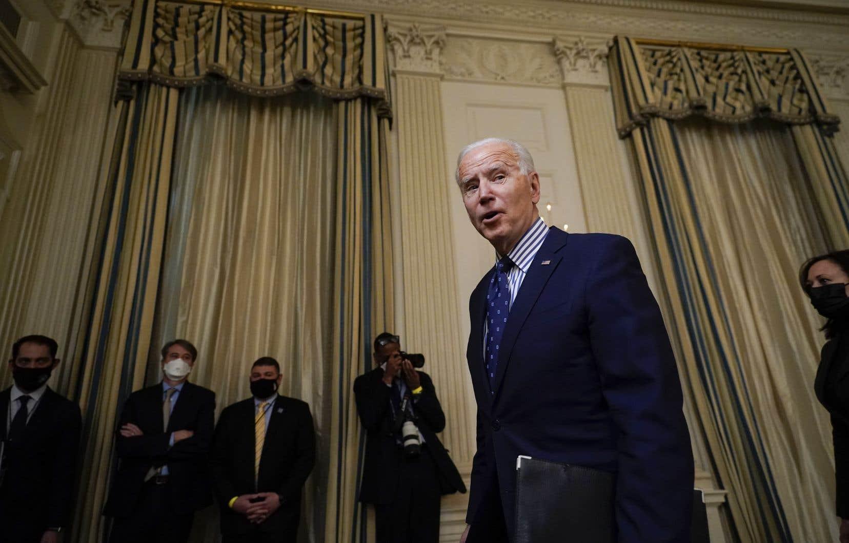 Le Sénat américain a finalement approuvé samedi le plan de relance économique du gouvernement Biden.