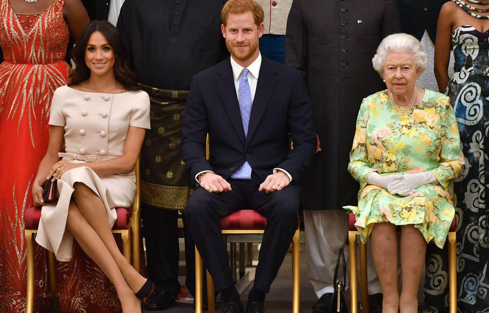 La reine Élisabeth IIa témoigné son amour au couple formé par Harry et Meghan.