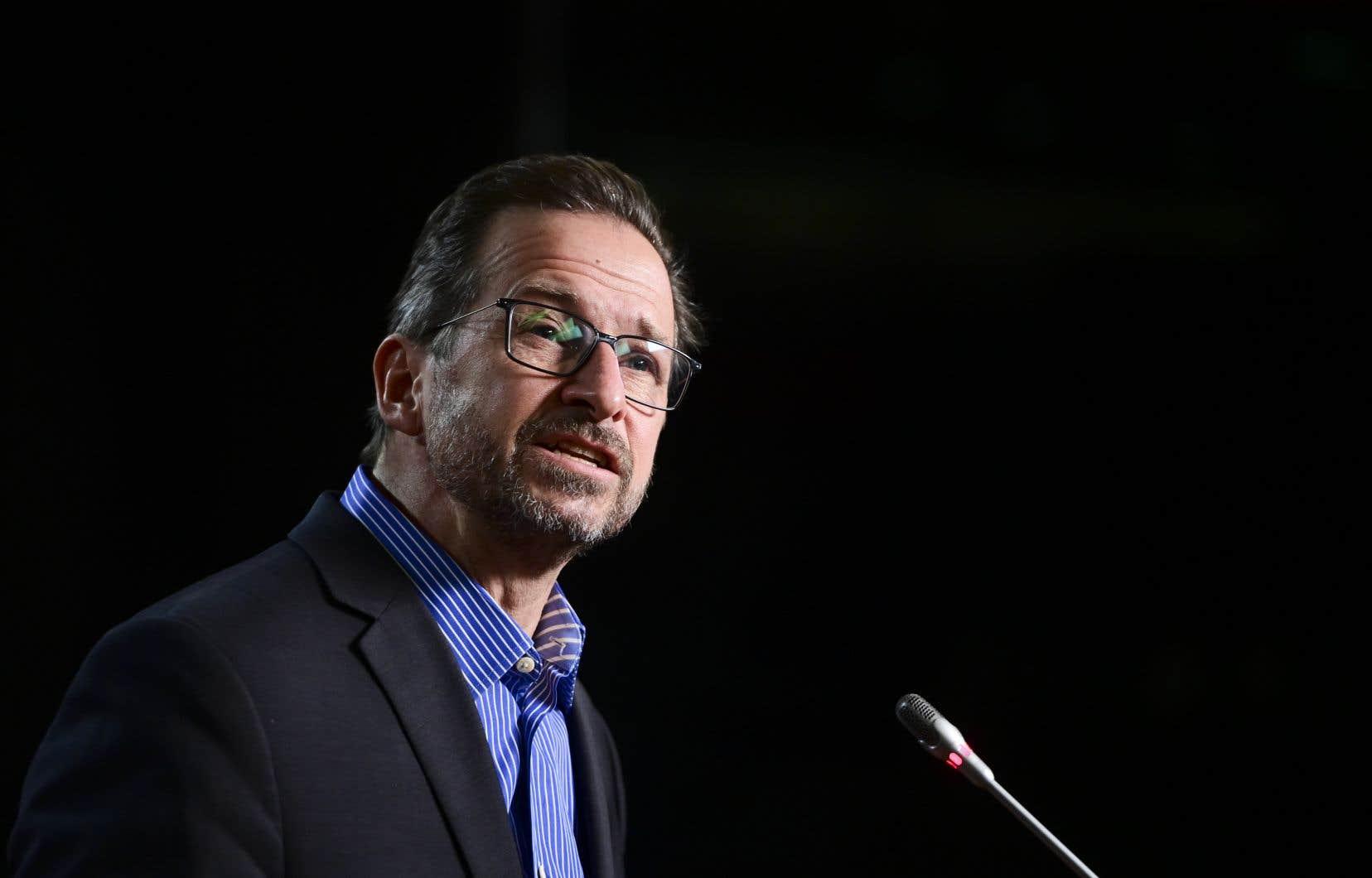 Le chef bloquiste Yves-François Blanchet s'est dit prêt à voter en faveur d'une éventuelle motion d'attribution de temps, qui limitera le débat sur C-7.