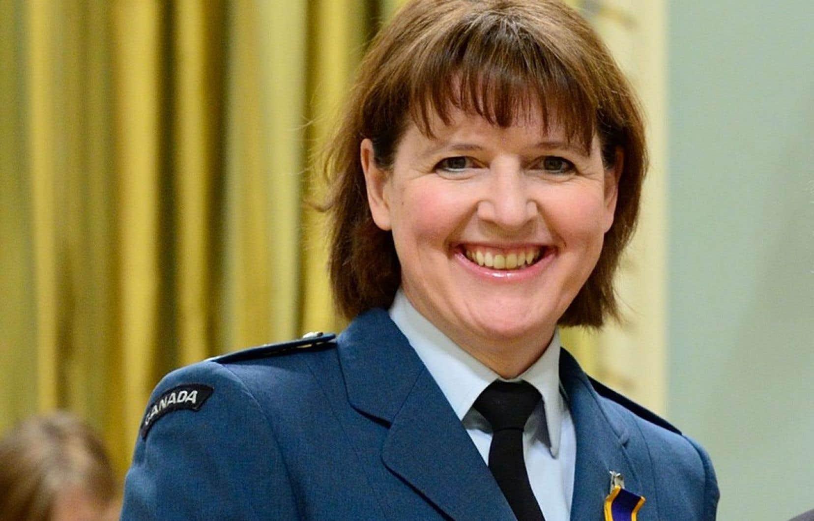La lieutenante-générale Allen était récemment la représentante militaire du Canada au quartier général de l'Alliance atlantique (OTAN) à Bruxelles.