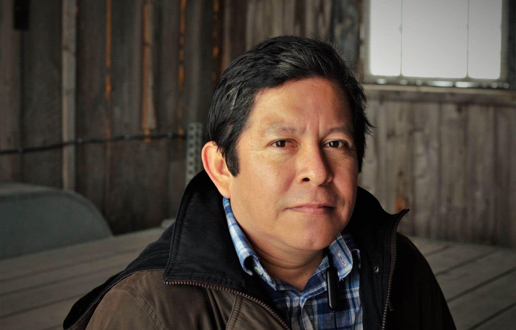Le travailleur agricole Joni Ismaël Velazquez