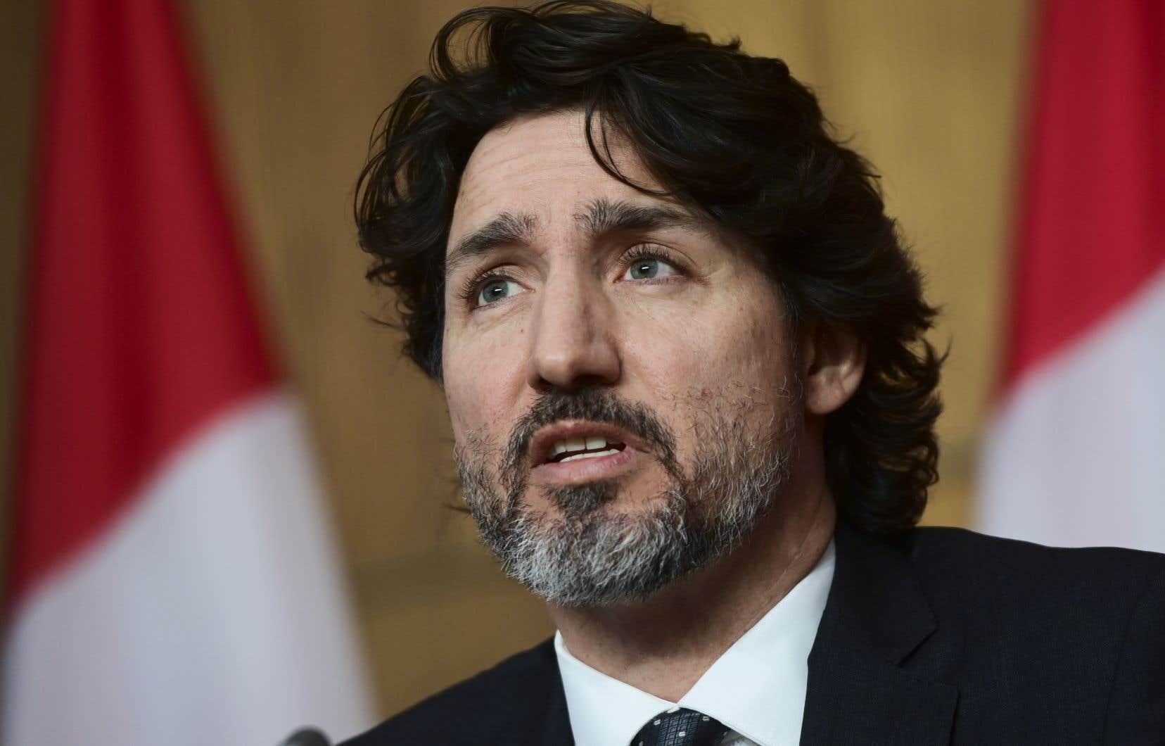 Justin Trudeau fait le point sur la pandémie de COVID-19.