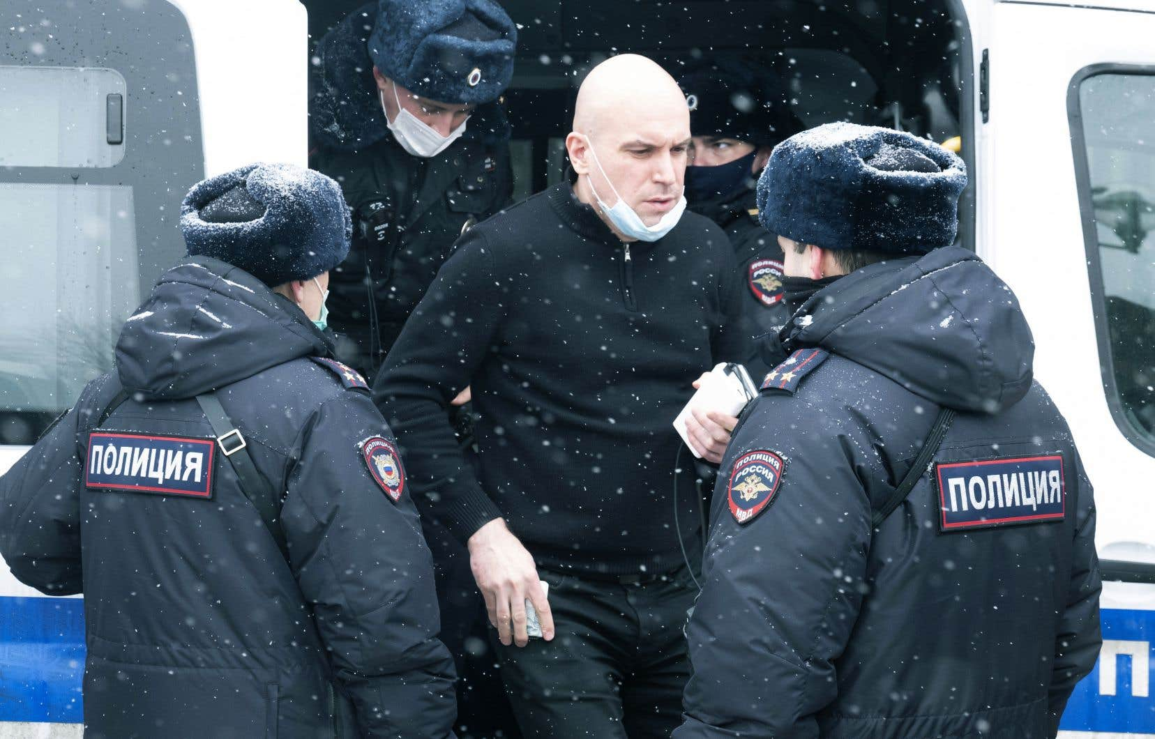Dans un communiqué, la police de Moscou a de son côté indiqué avoir procédé à l'arrestation de 200 personnes.