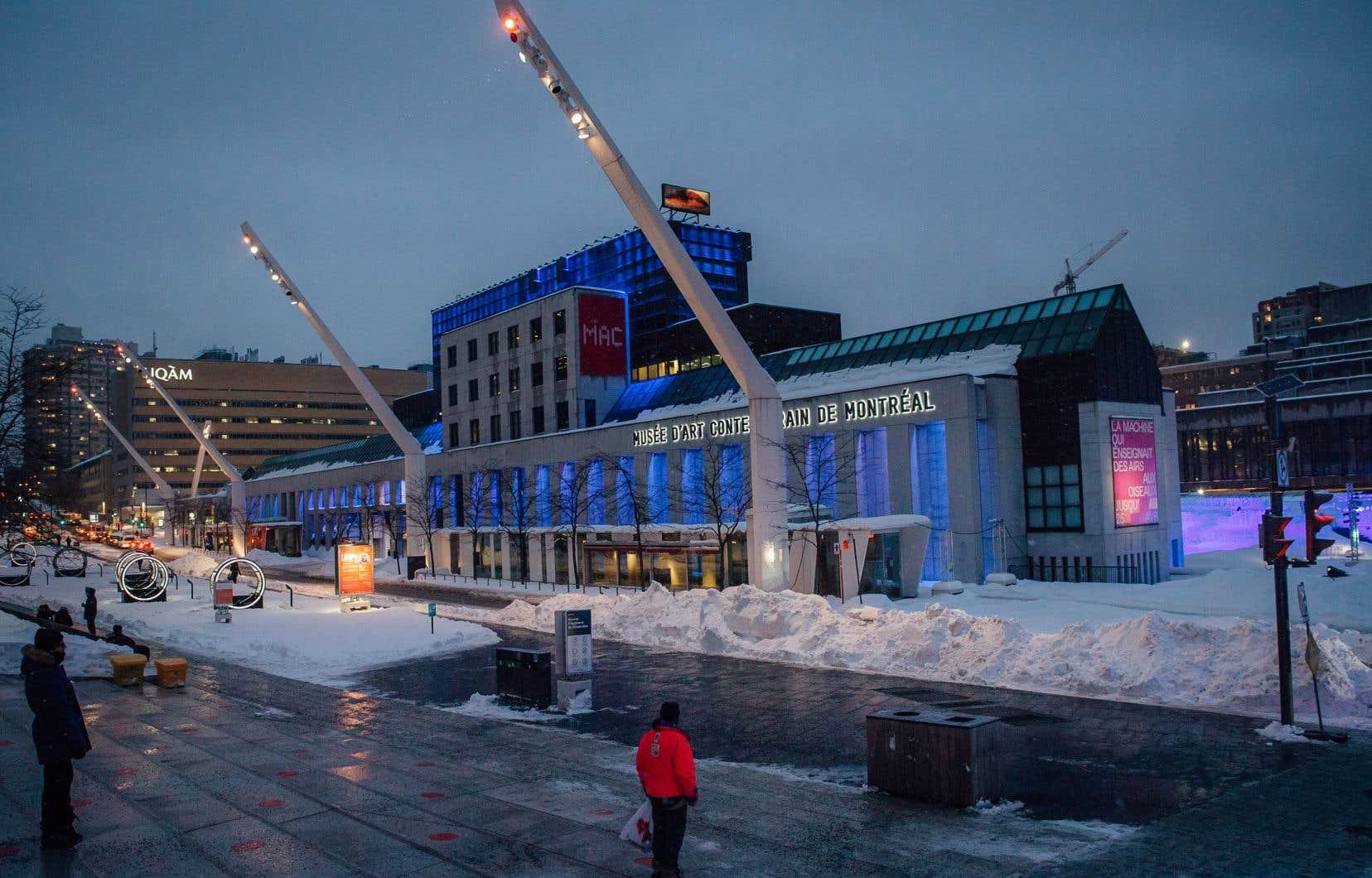 Les travaux visent à réaménager  et à améliorer l'immeuble ainsi qu'à bonifier  son intégration au complexe  de la Société de la Place des Arts de Montréal.