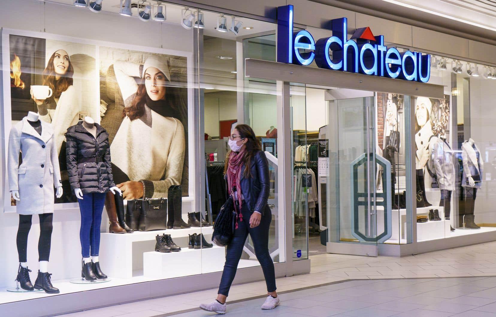 Le Château avait affiché une perte nette de 69,2millions au terme de l'exercice terminé le 25janvier 2020. Ses derniers profits remontent à 2010, lorsque l'entreprise exploitait 236 boutiques au pays et deux points de vente au sud de la frontière, d'après le rapport annuel de l'époque.