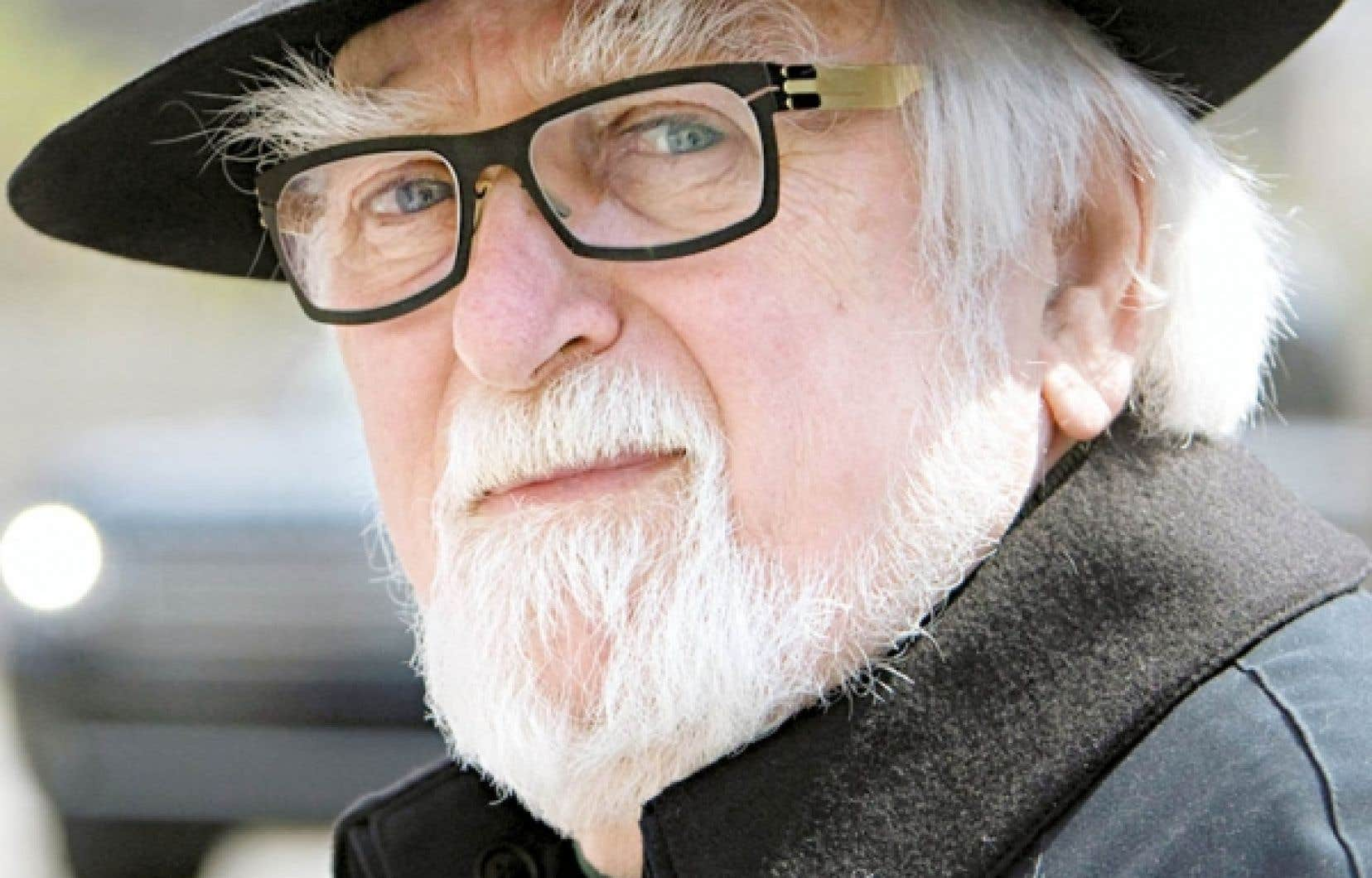 Jacques Languirand, porte-parole du Jour de la Terre<br />