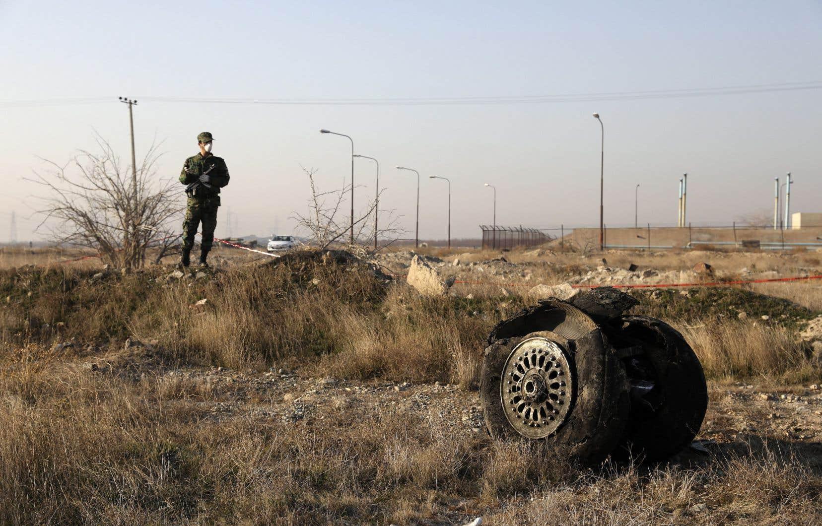 Deux missiles ont été tirés sur le vol 752 des lignes aériennes Ukraine International peu de temps après son décollage de Téhéran le 8janvier 2020.