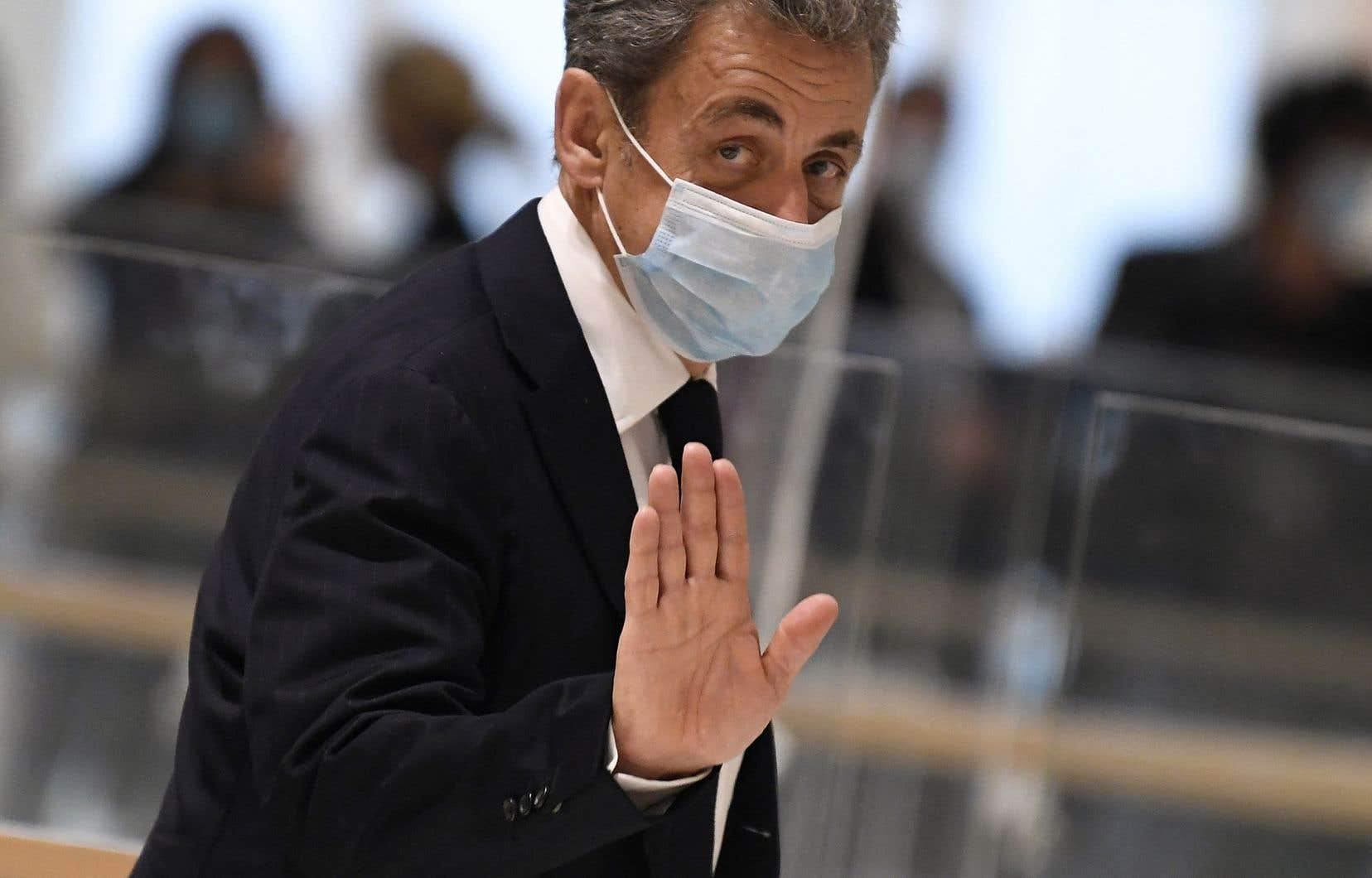 C'est la seconde fois en quinze jours que l'ancien président français se retrouve devant la justice.