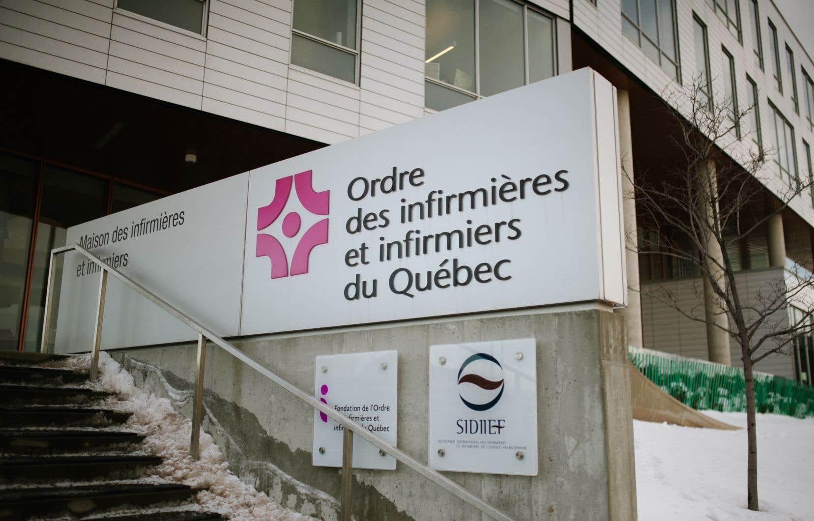 L'Ordre des infirmières et infirmiersdu Québec assure<span style=