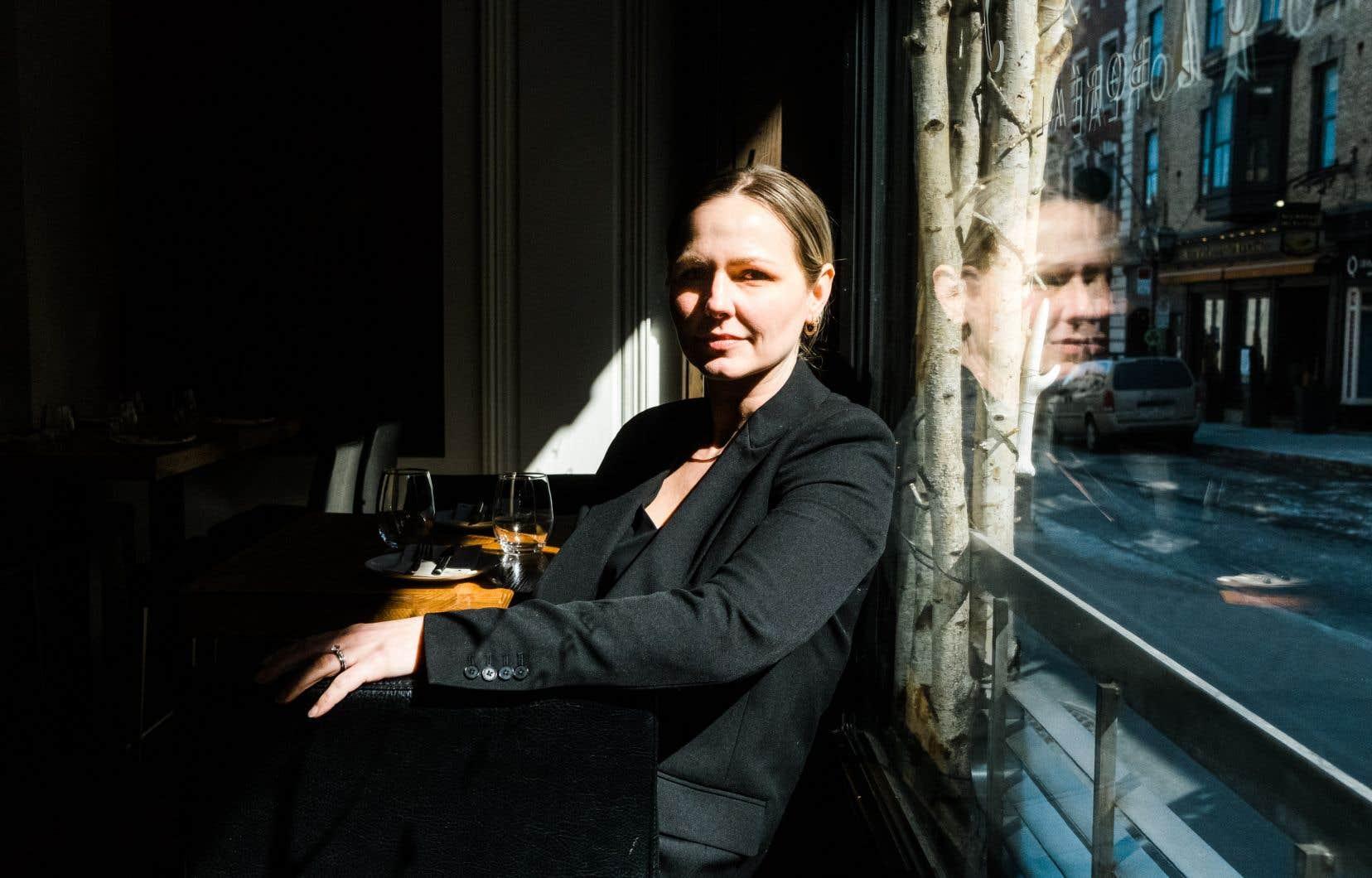 Sophie Marchand, copropriétaire de Chez Boulay – bistro boréal à Québec. S'il ne date pas d'hier, le manque d'employés en restauration a été accentué par la pandémie et les fermetures prolongées des salles à manger.