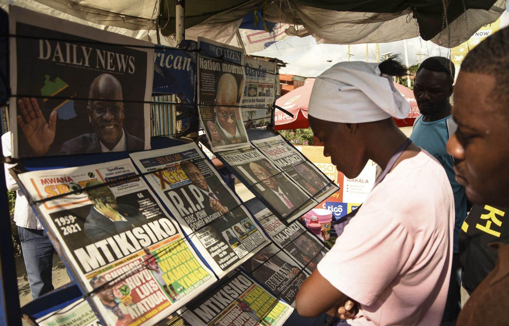 À la tête du pays depuis 2015, John Magufuli, 61ans, est officiellement mort mercredi de problèmes cardiaques, a déclaré Samia Suluhu Hassan,.