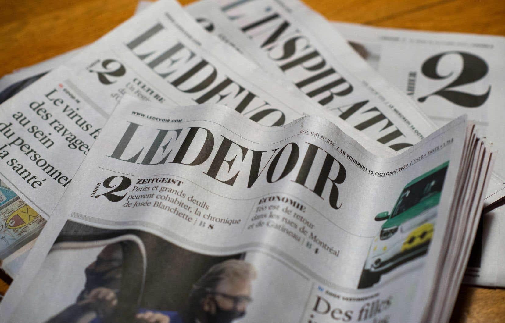 Compte tenu des conditions de travail difficiles inhérentes au contexte pandémique, toutes ces nominations «revêtent une signification encore plus importante cette année», souligne la rédactrice en chef du «Devoir», Marie-Andrée Chouinard.