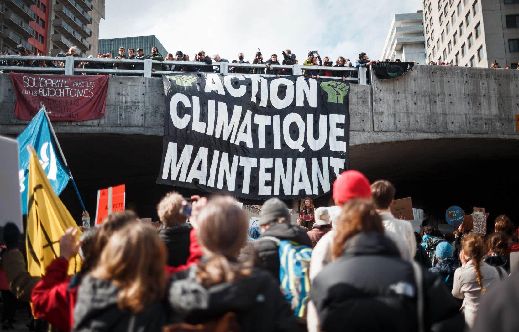 Le mouvement de grève pour le climat reprend de plus belle | Le Devoir