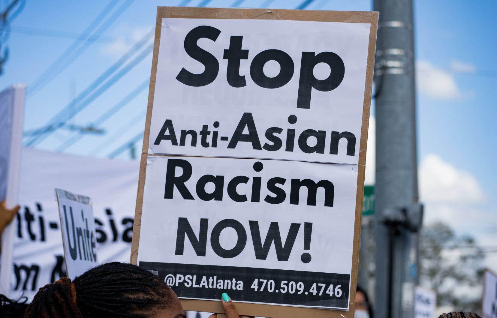 Pour beaucoup de gens,le bain de sang d'Atlanta relève donc à la fois du racisme, du sexisme, du mépris pour les pauvres, du problème des armes à feu aux États-Unis et de la maladie mentale. Bref, il est «intersectionnel».
