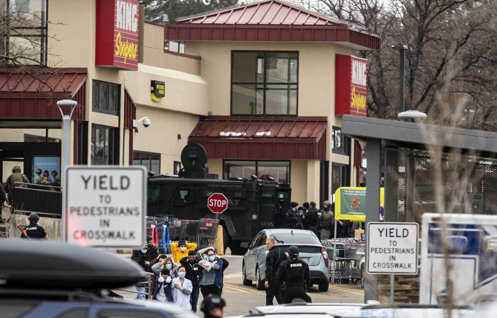 La fusillade est survenue dansla ville américaine de Boulder, dans le Colorado.